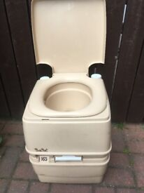 Porta Potti 165 Camping Toilet. Good Condition & Working Order