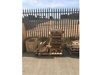 Free pallets for DIY or just for firewood