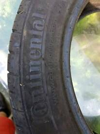 New continental tyre