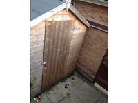 Shed excellent condition 2 years old was £440 new