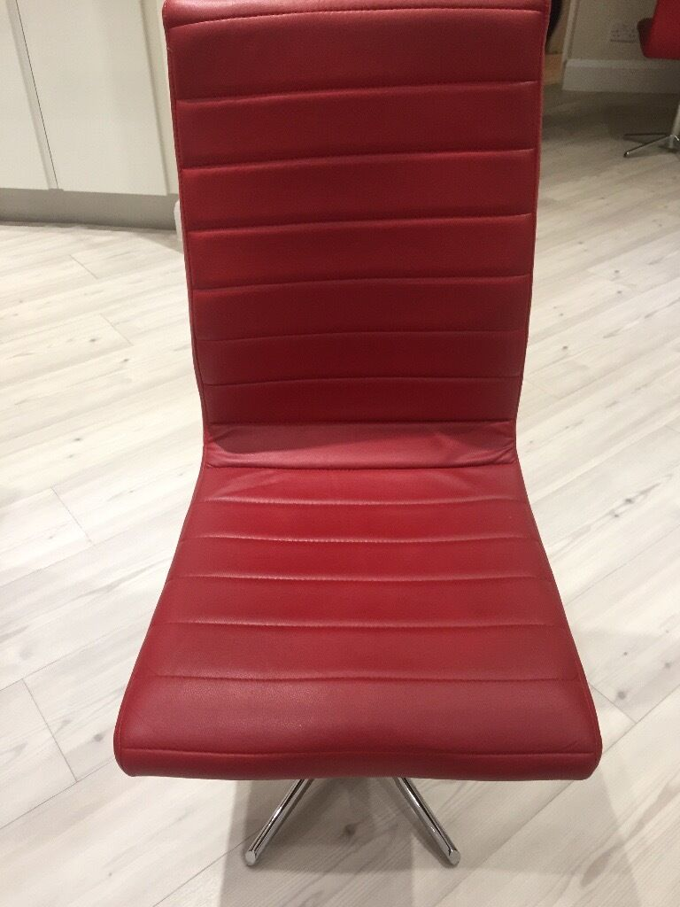 swivel kitchen chairs 8 Red Dwell Swivel Kitchen Chairs
