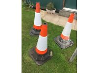 Large weighted traffic cones