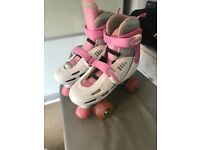 Roller skates light up wheels SFR racing storm girls 3-6
