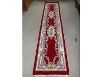Long runner rug .