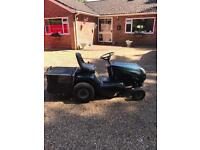 Ride on hayter lawnmower