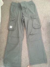 Men's Firetrap trousers 32 Reg in exellent condition