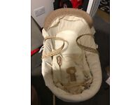 0-6 months baby Moses basket with rocking stand