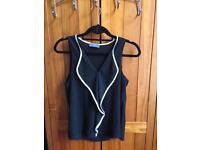 Black Sleeveless Top Size 10/M