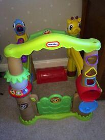 Little tikes light & go activity garden treehouse