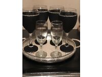 Wine Glasses fit for a Princess/Prince
