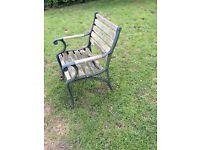 Garden chair vintage