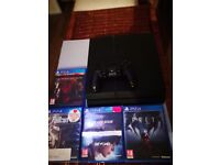 Barely used 1tb ps4 £190