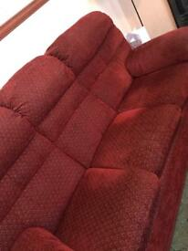 Free 3 seater sofa and electric 2 seater recliner