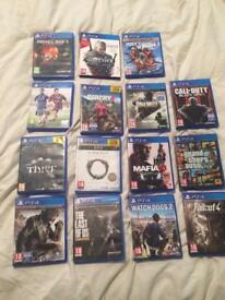 Ps4 500gb 15 games 1 controller