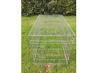 Foldable dog cage