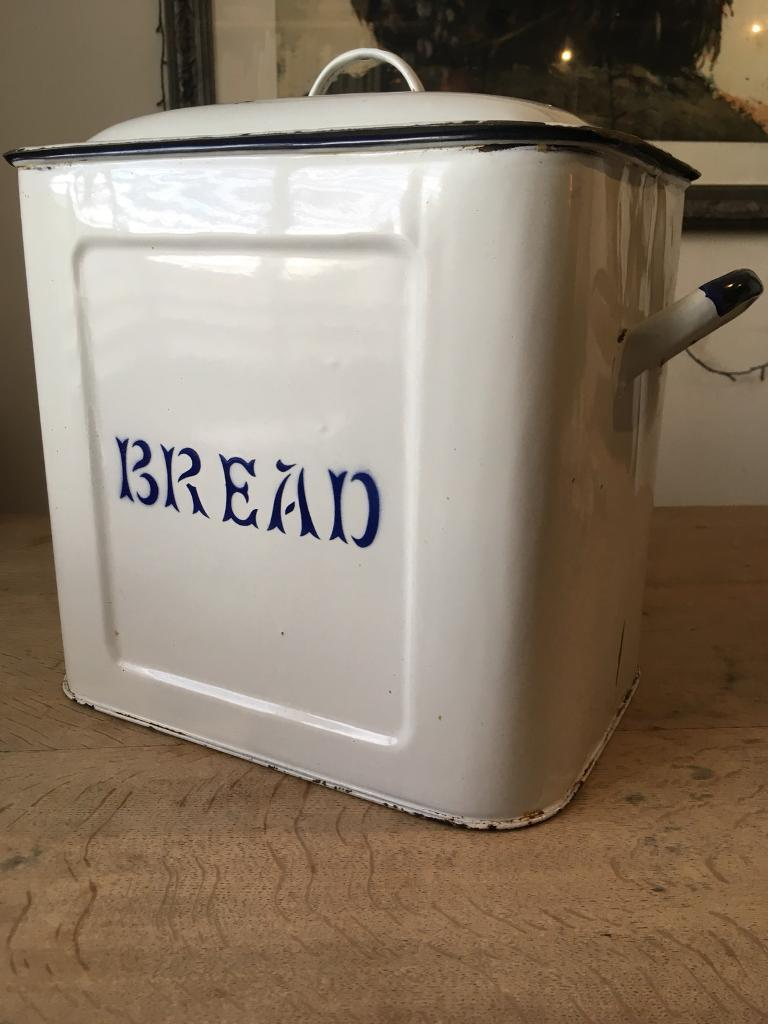 Vintage Enamel Bread Bin In Brighton East Sussex Gumtree
