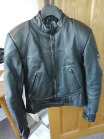 Ladies Frank Thomas Motorcycle Jacket