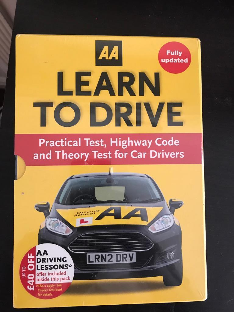 Learn to drive theory, practical high codes brand new sealed