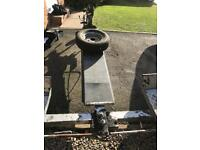 Car towing dolly