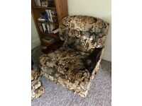 2 seater couch and 2 armchairs