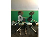 Axus Didital Drum kit, hardly used ; instruction booklet