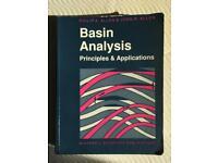 Basin Analysis - principles and applications (Allen & Allen)