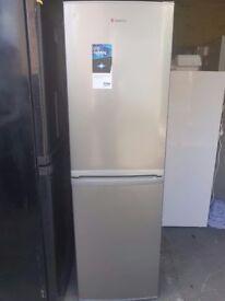 Stainless Steel Hoover Fridge freezer (frost free)