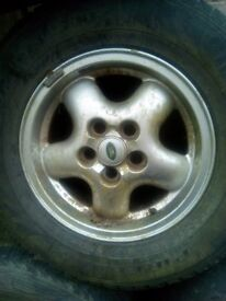 Set of 16in. L/Rover Alloys , probably freelander.