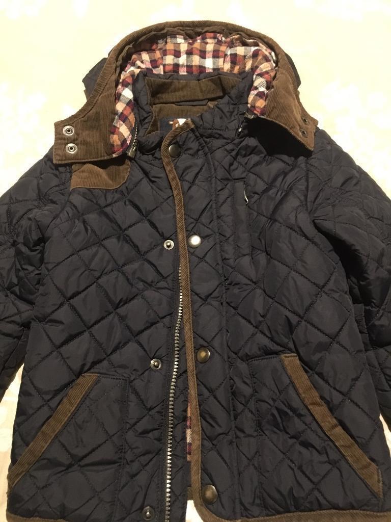 b3a33ea5ad81 Navy kids boys winter coat age 3-4