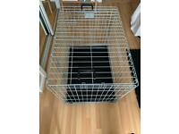 Collapsible Dog Crate with Handles (Medium)