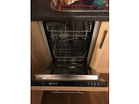 Neff Slimline Integrated dishwasher