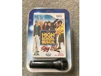 Nintendo Wii and Wii U - High School Musical Sing It Game and Microphone - Brand New