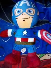 Captain America soft toy