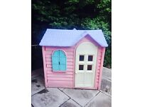 Little Tikes pink country cottage / playhouse