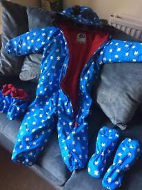 Kids snow suit Age 2-3