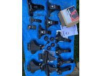 Thule Roof Bar Brackets x 3 Foot Packs 527 Locking Knob & Keys Kit 1175 £65 Swop RC Cars/Spares