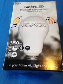 Bluetooth speaker bulb