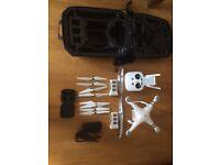 DJI Phantom Pro 3 4K drone & IPad mini 3 64gb white
