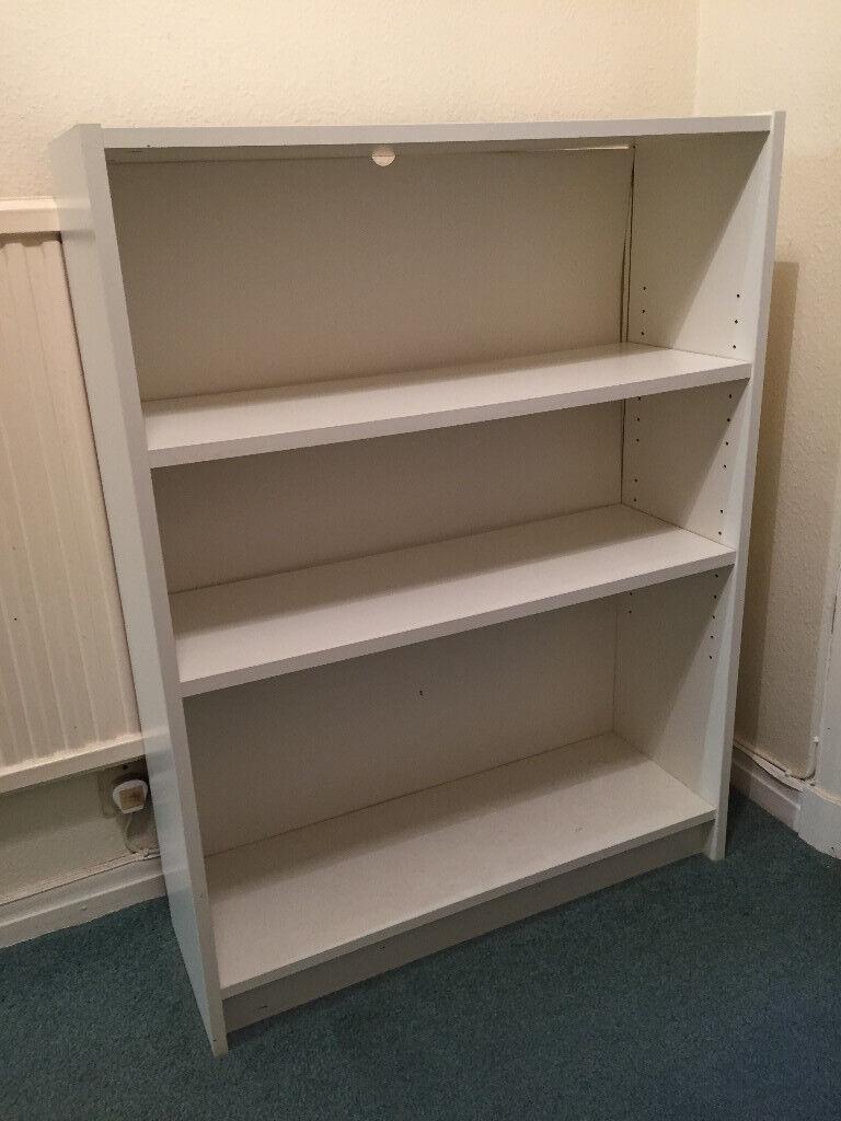premium selection 58bd4 07a38 Ikea Billy Bookcase white 3 shelves in good condition | in Fairmilehead,  Edinburgh | Gumtree