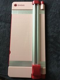 Woodware Pink coloured Paper Trimmer