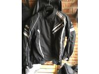 Held winter motorbike jacket with liner size 2xl