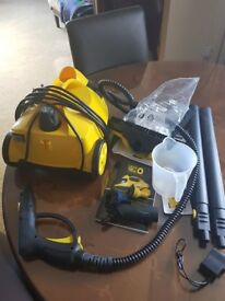 Little YellO steam cleaner and attachments hardly used