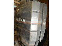 Mariner outboard 75hp 2 stroke