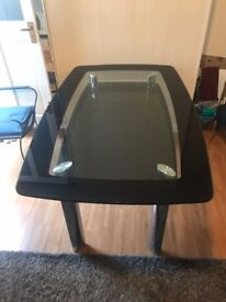 modern glass table for sale.