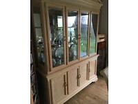 Dining Room Suite ( Unit, Table & 4 Chairs)