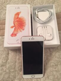 IPhone 6s Plus , rose gold , 128 GB , very good condition