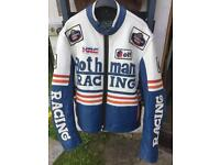 80's Leather racing jacket