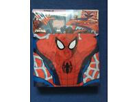Spider-Man single duvet set Bnwt