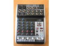 Behringer XENYX Q802USB - Mixer/Audio interface