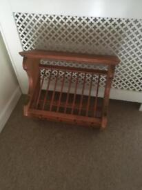 Penny plate and cup rack